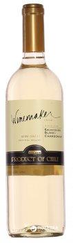 Вино Winemaker Sauvignon Blanc/Chardonnay белое полусладкое 0.75 л 12% (7808765712571)