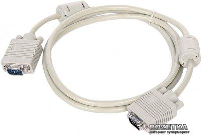 Кабель Cablexpert Premium VGA HD15M - HD15M 5 м 2 феритових кільця (CC-PPVGA-5M)