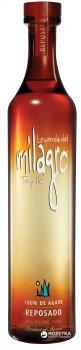 Текила Milagro Reposado 0.75 л 40% (5010327404028)