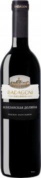Вино Бадагоні Алазанська Долина червоне напівсолодке 0.75 л 11% (4860006040440)