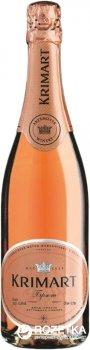 Вино ігристе Krimart рожеве брют 0.75 л 10-13.5% (4820003351581)