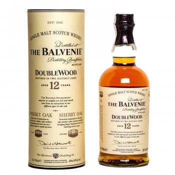 Віскі Balvenie Doublewood 12 років витримки 0.7 л 40% (5010327505138)