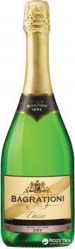 Вино игристое Багратиони классическое белое сухое 0.75 л 12% (4860069010091)