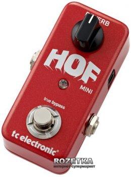 Педаль эффектов TC Electronic Hall of Fame Mini Reverb (HOF mini Reverb)