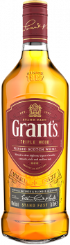 Віскі Grants Triple Wood 0.7 л 40% (5010327000404)