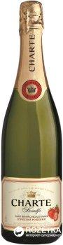 Винный напиток игристый Charte Клубника розовый полусладкий 0.75 л 6.0–8.5% (4820003359945)