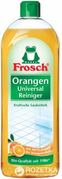 Універсальний очищувач Frosch Апельсин 750 мл (4001499140648)