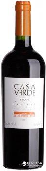 Вино Casa Verde Rezerva Syrah красное сухое 0.75 л 13% (7808765713196)