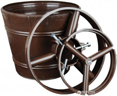 Стійка для ялинки Form-Plastic Відро 25.5 см Коричнева (5907474317861)