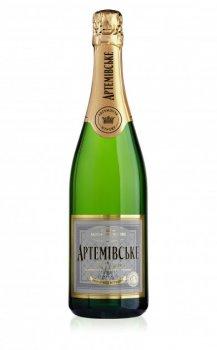 Вино игристое Артемовское белое сухое 0.75 л 10-13.5% (4820003352151)