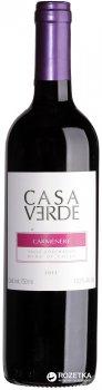Вино Casa Verde Carmenere красное сухое 0.75 л 13% (7808765712960)