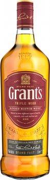 Виски Grant's Triple Wood 1 л 40% (5010327000039)