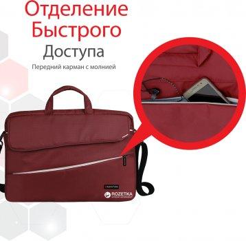 "Сумка для ноутбука Promate Charlette 15.6"" Red (charlette.red)"