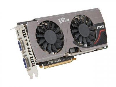MSI PCI-Ex GeForce GTX 560 Ti Hawk 1024MB GDDR5 (256bit) (950/4200) (DVI x 2, Mini HDMI) (N560GTX-Ti HAWK) Refurbished (44-002)