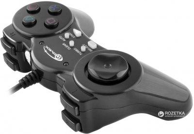 Проводной геймпадGemix GP-40 PC Black (GP40B)