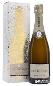 Шампанское Louis Roederer Brut 1er Cru Gift Box белое брют 0.75 л 12% (3114080016053_3114080116050)