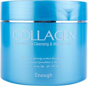 Зволожувальний масажний крем для тіла Enough Collagen Hydro Moisture Cleansing Massage Cream з колагеном 300 мл (8809107531125)