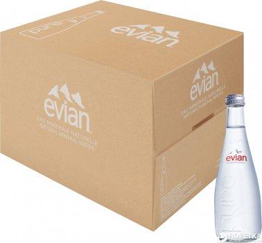 Упаковка води мінеральної Evian негазованoї 0.33 л x 20 пляшок (3068320103631_3068320103723)