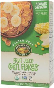 Кукурузные хлопья Nature's Path Органические с фруктовым соком без глютена 300 г (058449600572)