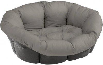 Подушка для собак і кішок Ferplast Sofa' 6 73x55x27 см для лежаків Siesta Deluxe Сіра (82032099)