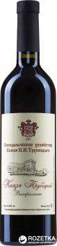 Вино Князь Трубецькой червоне сухе 0.75 л 10 - 14% (4820149500140)