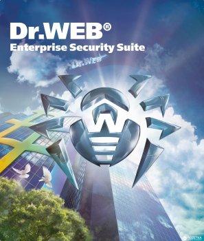 Антивірус Dr. Web Універсальний 20 робочих станцій + 20 користувачів пошти + 20 мобільних пристроїв + 1 файловий сервер + центр управління на 1 рік