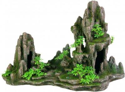 Грот Trixie Скалы с пещерой и растениями 45 см 8855 (4011905088556)
