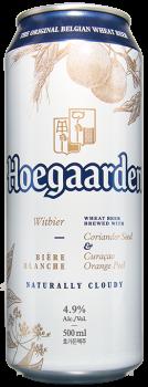 Упаковка пива HoeGaarden Witbier світле нефільтроване 4.9% 0.5 л x 24 шт (5410228169604)