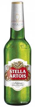 Упаковка пива Stella Artois світле фільтроване 4.8% 0.5 л x 20 шт (4820034921500)