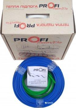 Тепла підлога ProfiTherm Eko 2 двожильний кабель 1115 Вт 68 м (70208623)
