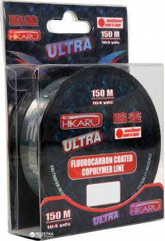 Леска Lineaeffe Hikaru Ultra Fluorocarbon Coating 0.2 мм 150 м 5.5 кг (3400020)