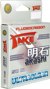 Леска Lineaeffe Take Akashi Fluorocarbon 0.28 мм 50 м 11.5 кг (3042128)
