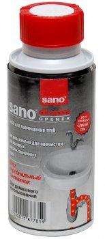 Засіб для прочищення каналізаційних труб Sano Drain 200 г (7290011877859)