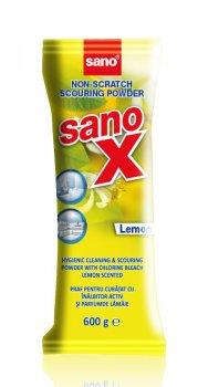 Порошок для чистки Sano X с хлором 600 г сменная упаковка (7290000286631)
