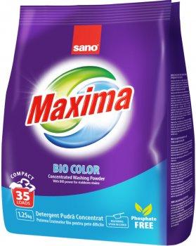 Стиральный порошок Sano Maxima Bio Color 1.25 кг (7290000295343)