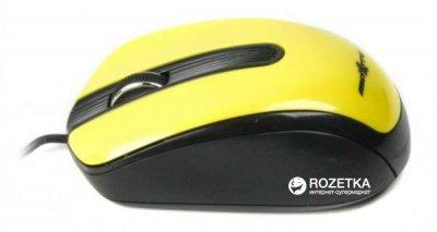 Миша Maxxter Mc-325-Y USB Yellow