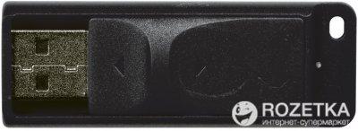 Verbatim Store 'n' Go Slider USB Drive 32GB Black (98697)
