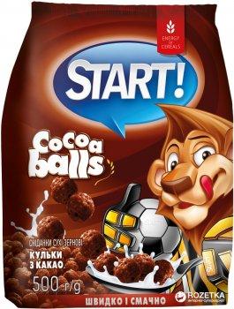 Сухой завтрак Start шарики с какао 500 г (4820008125477)