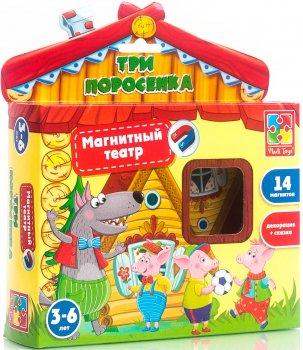 Гра Vladi Toys Магнітний театр Три порося (VT3206-11)