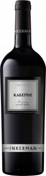 Вино Inkerman Каберне червоне сухе 0.75 л 10-13% (4820000624862)