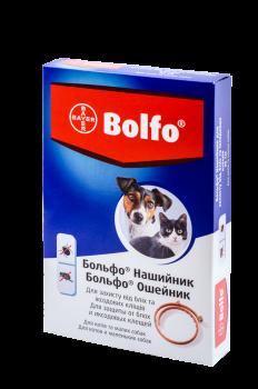 Нашийник Bayer Больфо від бліх і кліщів для котів і собак 35 см (4007221035220/4007221021599)