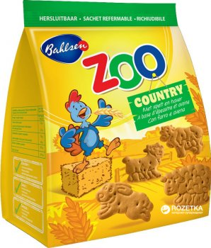 Печенье Bahlsen Зоопарк ферма 100 г (4017100124112)