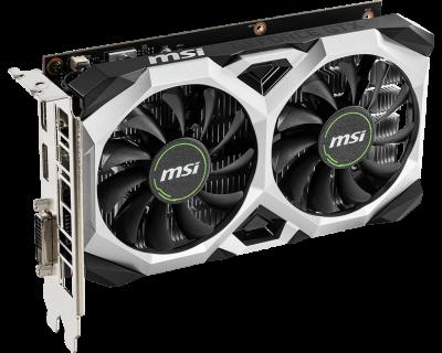 MSI PCI-Ex GeForce GTX 1650 Ventus XS 4G 4GB GDDR5 (128bit) (1665/8000) (DisplayPort, HDMI, DVI) (GTX 1650 VENTUS XS 4G)