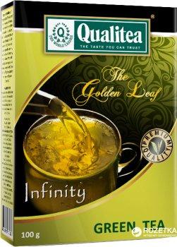 Упаковка середньолистового зеленого чаю Qualitea 100 г х 2 шт (4820053770387_S)