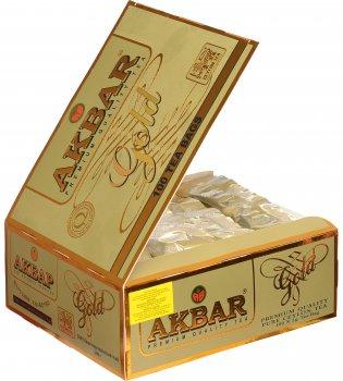 Чай чорний пакетований Akbar Gold 100х2 г (5014176006617)