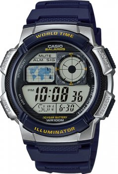 Чоловічий годинник CASIO AE-1000W-2AVEF
