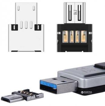 Адаптер Lapara OTG Micro USB - USB AF (LA-OTG-microUSB-adaptor)
