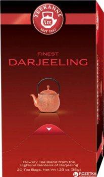 Чай чорний пакетований Teekanne Відбірний високогірний Дарджилінг 20 пакетиків (4009300006312)