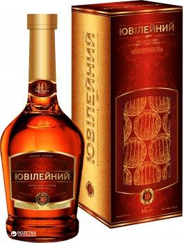 Бренди Одесский Коньячный Завод Юбилейный 10 лет выдержки 0.5 л 43% (4820000942256)