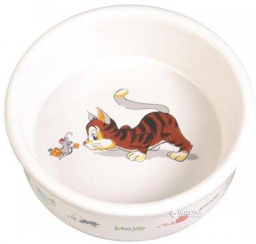 Миска керамическая для котов Trixie 200 мл 4007 (4011905040073)